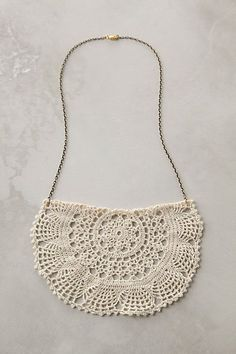 DIY Inspiration from lace jewelry.