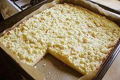 Schneller Quark - Streusel - Kuchen mit Obst (Rezept mit Bild) | Chefkoch.de