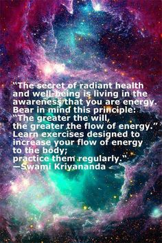 Secrets of Radiant #Health and Well Being by Swami #Kriyananda - Day Seven