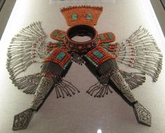 Mongolian Headdress.  Silver, turquoise and coral | © Hawah, via Ethnic Jewels