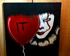 My painting of Pennywise