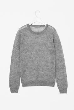 //COS Alpaca wool jumper