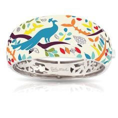Peacock Paradise Multi Bangle