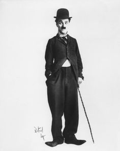 """""""Charlie Chaplin"""", 1915. Part of the V """"Hollywood Costume"""" exhibition"""