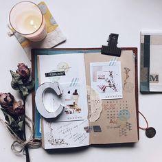 試著從生活痕跡裡揀拾一些靈感來拼拼湊湊吧!  #TRAVELERSnotebook #TRAVELERScompany #トラベラーズノート #instaxsp3