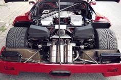 Pure engine Ferrari F40