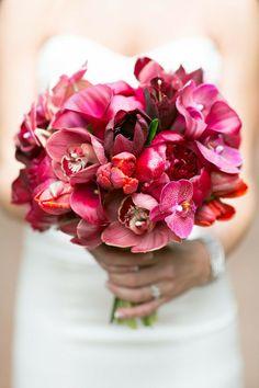 The Prettiest Bridal Bouquet Trend. http://www.modwedding.com/2014/02/25/the-prettiest-bridal-bouquet-trend/ #wedding #weddings #bouquets #reception