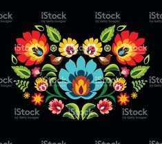 Heart made of folk floral pattern elements vector illustration royalty-free heart made of folk floral pattern elements vector illustration stock vector art & more images of folk music