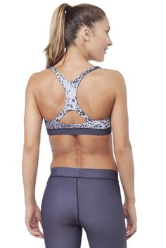 Electric & Rose Leopard Ombre Speedway Bra ~ http://www.dancefitnessapparel.com/bras/Electric---Rose.shtml