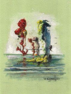 Gemäldemacher . Joachim JORI Niggemeyer: Monster Kiss