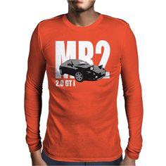 Toyota MR2 2.0 GTi Classic Sports Car Mens Long Sleeve T-Shirt