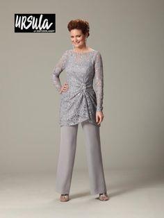 Mother of the bride, pants suit Ursula 13177 Lace Mothers Wedding Pant Set