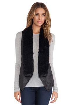 jacket, fur trim