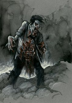 "Survival Zombie Apocalyse:  ""Zombie,"" oliverojm, at deviantART."