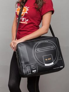 Relive The Past With These SEGA Dreamcast And Genesis Courier Bags