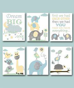 Baby Nursery Art, Nursery Quotes, Baby Room Art, Baby Wall Art, Elephant Nursery, Baby Boy Nurseries, Baby Room Decor, Art Wall Kids, Nursery Prints
