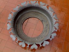 tire planters like my grandmother had.