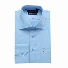 Tommy Hilfiger Long Sleeve Dress Shirts Light Blue Free Shipping Long Sleeve Shirt Dress, Dress Shirts, Tommy Hilfiger Shirts, Light Blue, Dresses With Sleeves, Free Shipping, Mens Tops, Fashion, Moda