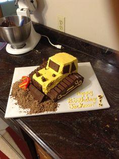 JD birthday cake