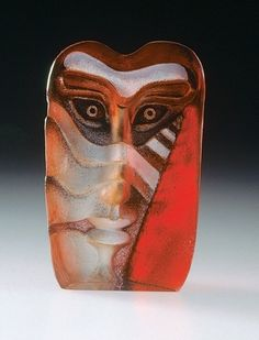 Glassobject Kosta Boda, by: Peter Rijs.