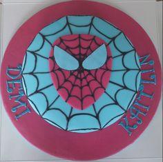 Spider girl cake June 2013