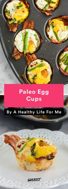 7. Paleo Egg Cups #healthy #breakfast #recipes http://greatist.com/eat/healthy-breakfast-cup-recipes-to-fuel-your-mornings