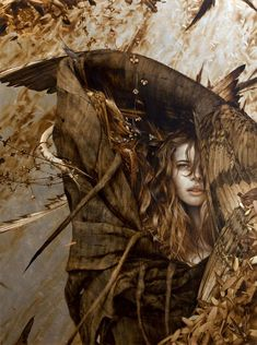 the paintings and artwork of brad kunkle. gold leaf artist and painter brad kunkle. Silver Leaf Painting, Brad Kunkle, Street Art, Classical Realism, Light In, Virtual Museum, Hans Christian, Painted Leaves, Illustrations