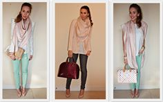 How to mix this pastel color LV scarf.