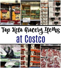 Top Keto Grocery Ite