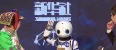 Agência envia robô repórter para cobrir coletiva de imprensa