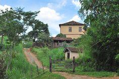 Fazenda em Piau, estado de Minas Gerais, Brasil.