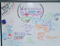 Wonderful (Mom) Wednesday -- whiteboard widsom