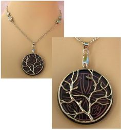 Silver Celtic Tree of Life Pendant Necklace