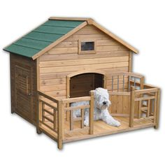 Prime Real State for pooches.... <3 #dogs #doghouse