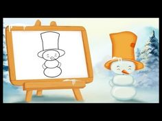 Comment dessiner un petit bonhomme de neige