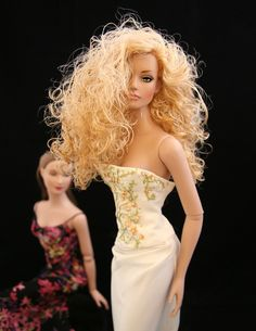 Beautiful OOAK doll hair