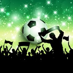 Buy Football Crowd Background by kjpargeter on GraphicRiver. Silhouette of a soccer / football crowd background. Files included – ai (version ten and eps (version ten) and . Football Cards, Football Soccer, Soccer Ball, Christmas Tree Background, Book Maker, Summer Backgrounds, Natural Preservatives, Sports Day, Silhouette Vector