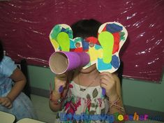 Elmer the Elephant mask Easy Crafts For Kids, Craft Activities For Kids, Book Activities, Preschool Activities, Art For Kids, Colour Activities, Elephant Theme, Elephant Crafts, Elmer The Elephants