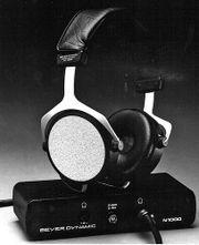Beyerdynamic ET-1000 System - my first Electrostatic Headphones. I had a pair. I mean I had 2 pairs!