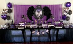 MALEFICA-MALEFICENT Candy Bar | CatchMyParty.com