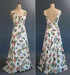 1930s Evening Dresses for Women -