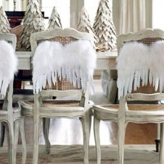 Holiday Chair Decor