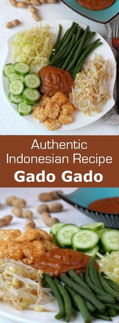 As an authentic and traditional Indonesian vegetarian recipe, gado gado salad is…