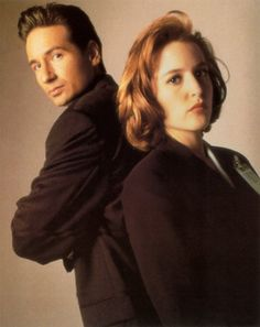 Fox Mulder and Dana Scully - The X Files