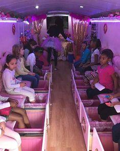 Girls Spa Parties Bus In Katy Kids Spa Bus Mobile