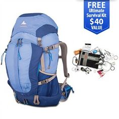 Gregory Jade 38 Blue - Medium is a lightweight pack offers a host of technical features designed to improve your comfort.