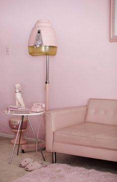 "The pinks create a monochromatic color scheme. The low intensities give off a ""laid back"" feel."