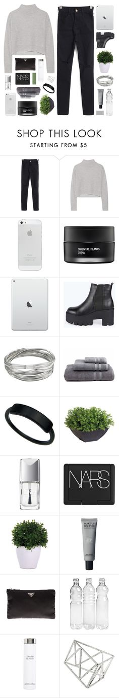 """HEHE"" by seasidevibes-xo ❤ liked on Polyvore featuring Line, Koh Gen Do, Boohoo, Whistles, Waterworks, Ethan Allen, Christian Dior, NARS Cosmetics, Lux-Art Silks and Prada"