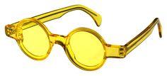 Selima Optique: Vintage Eye: 80's Alain Mikli Yellow Glasses