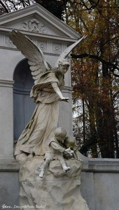 Sophie Biedermann z dziećmi... Cmentarz Stary. (02)